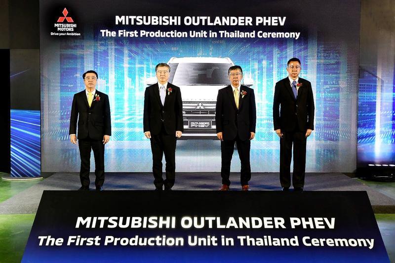 Mitsubishi Outlander PHEV 2021 Mulai Diproduksi di Thailand, Pertama di Luar Jepang 02