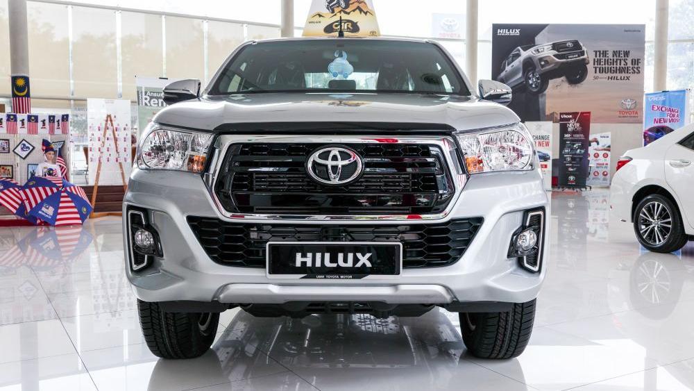 Toyota Hilux 2019 Exterior 002