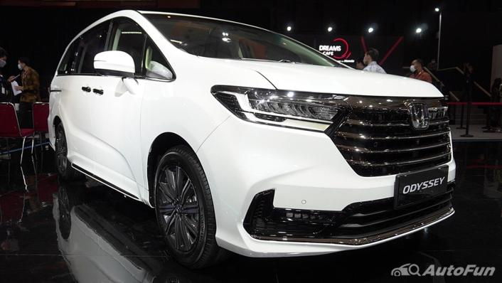 2021 Honda Odyssey 2.4L Exterior 002