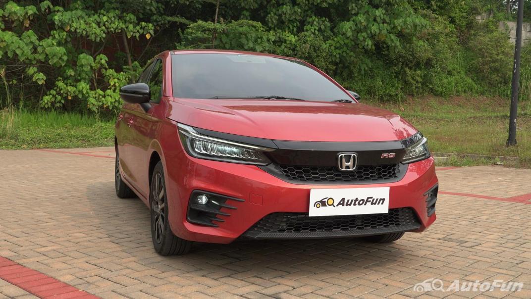 2021 Honda City Hatchback RS 1.5 CVT Exterior 003