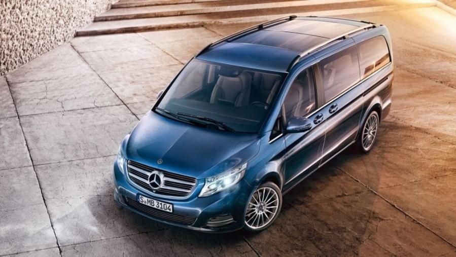 Mercedes-Benz V-Class 2019 Exterior 008