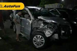 Tak Paham Rute, Daihatsu Terios Dihantam Truk Tronton di Tol Cikampek, Ini Pentingnya Perencanaan Perjalanan!