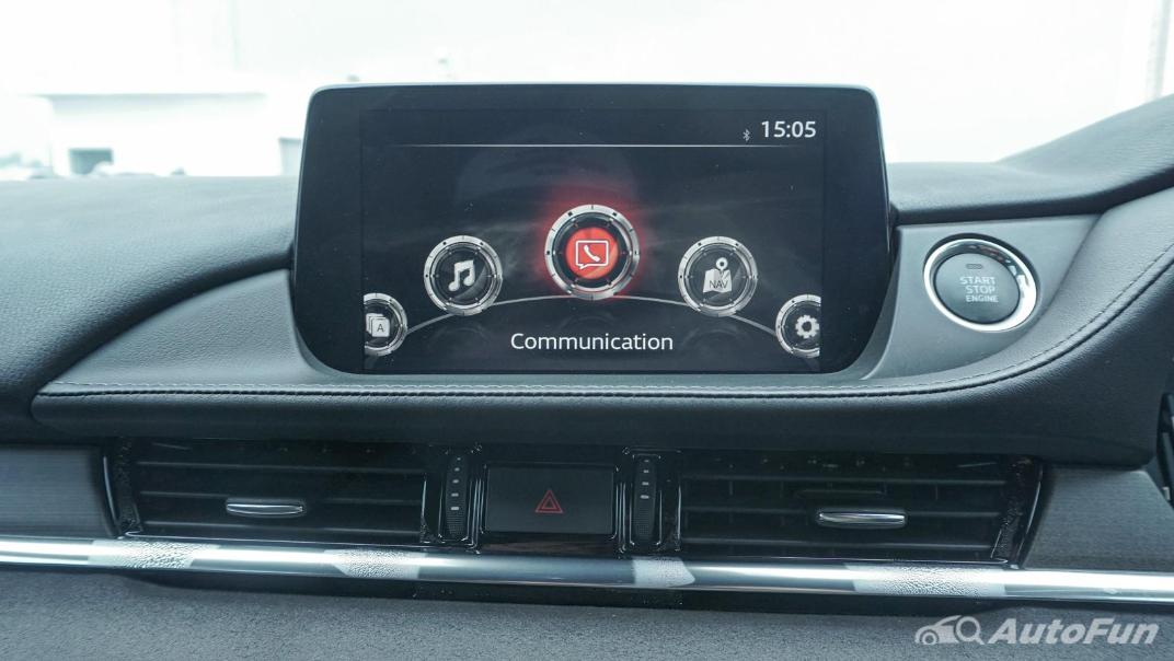 Mazda 6 Elite Estate Interior 027