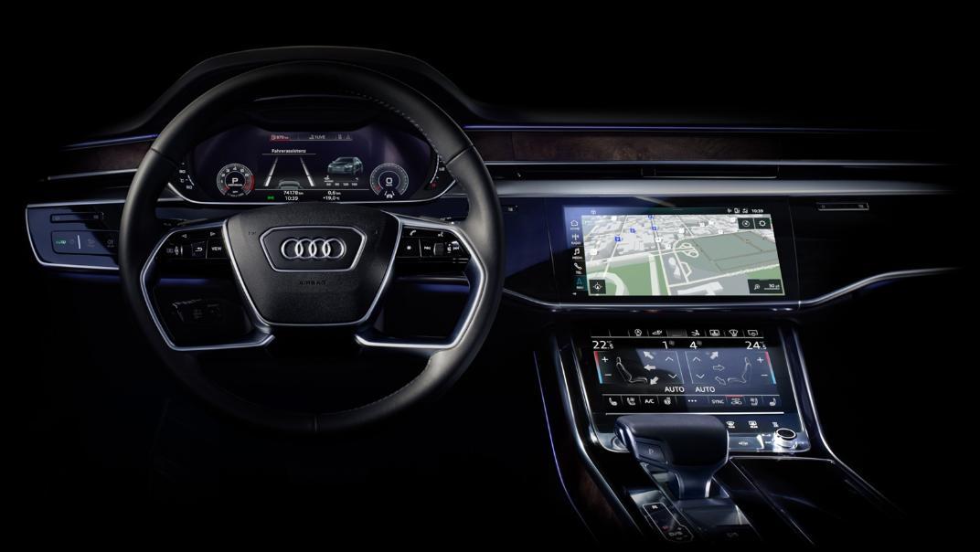 Audi A8 L 2019 Interior 002