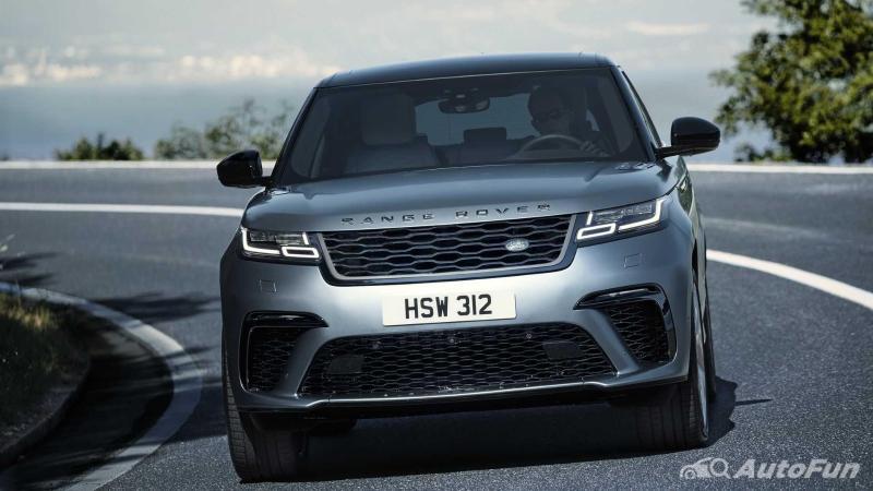 bagian depan Land Rover Range Rover Velar SVAutobiography Dynamic Edition