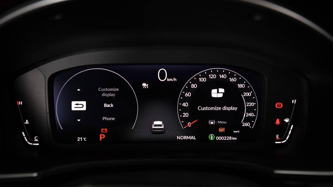 2022 Honda Civic Upcoming Version Interior 023