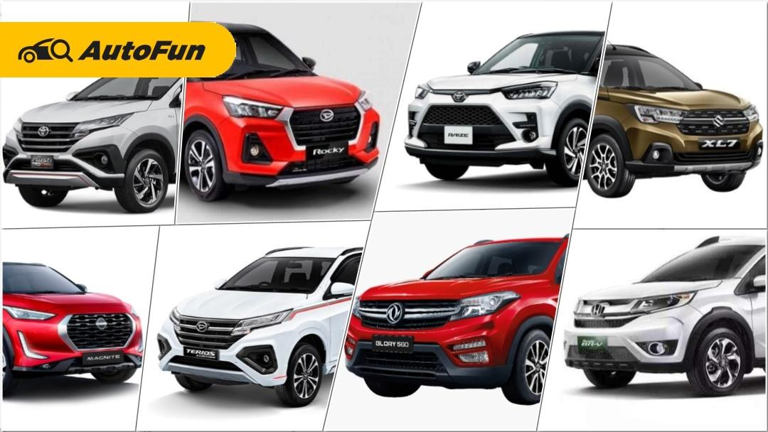Bosen Ngomongin Toyota Raize dan Daihatsu Rocky, Ini Pilihan SUV Rp200 Jutaan Lainnya! 01