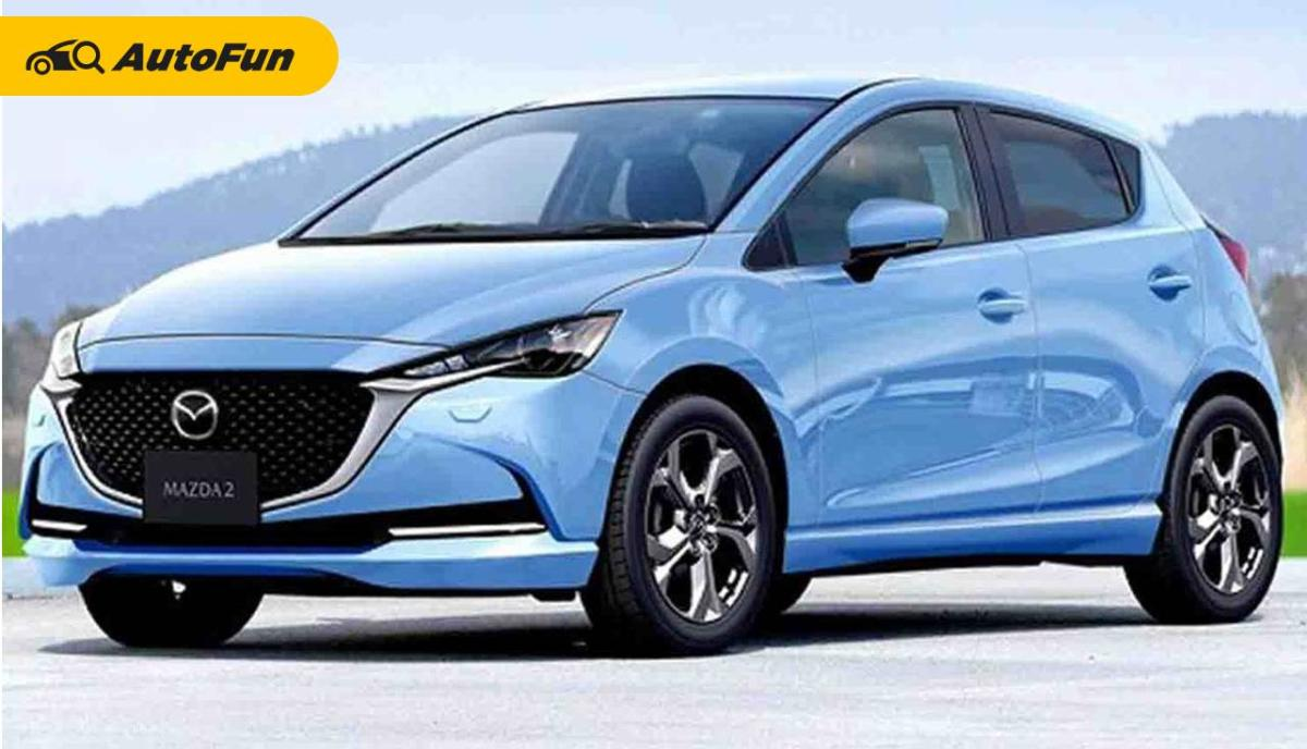 Mazda 2 2022 Siap Tantang Toyota Yaris dan Honda City Hatchback Dengan Varian Hybrid 01