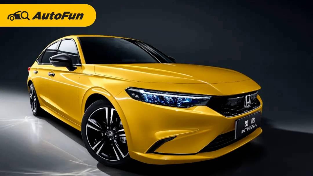 Honda Integra Sedan 2022 Resmi Meluncur di Cina, Lebih Sporty dari Civic 01