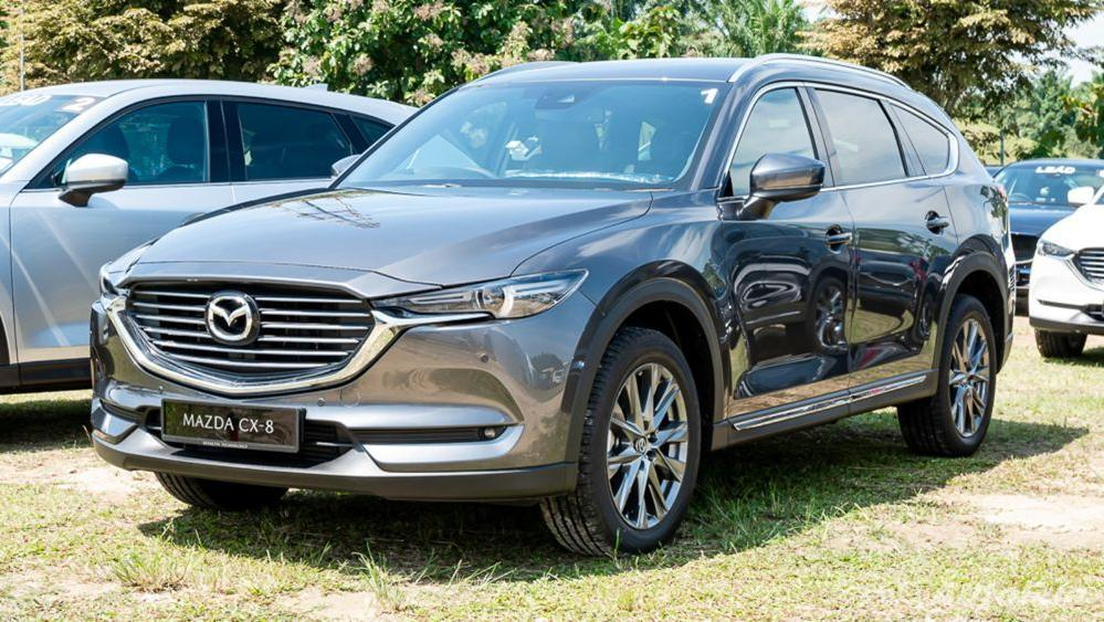 Mazda CX 8 2019 Exterior 001