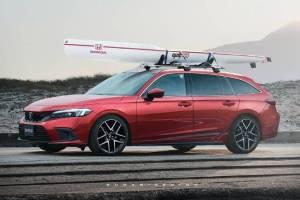 Kalau Honda Civic 2022 Ada Versi Wagon, Bisa Lebih Menarik Saat Masuk Indonesia