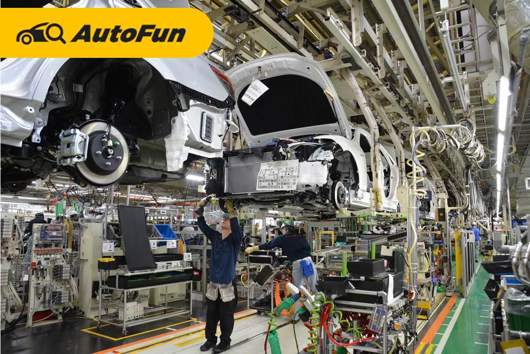 Produksi Toyota Krisis Chip Semikonduktor