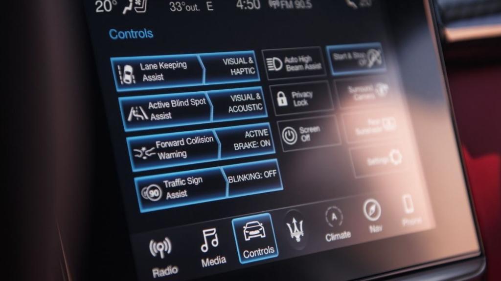 Maserati Quattroporte 2019 Interior 004