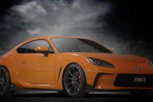 TOM's Sediakan Paket Modifikasi Toyota GR86, Bentuknya Jadi Mirip Lexus RC F