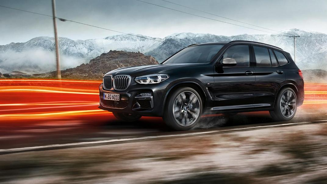 BMW X3 M Exterior 006