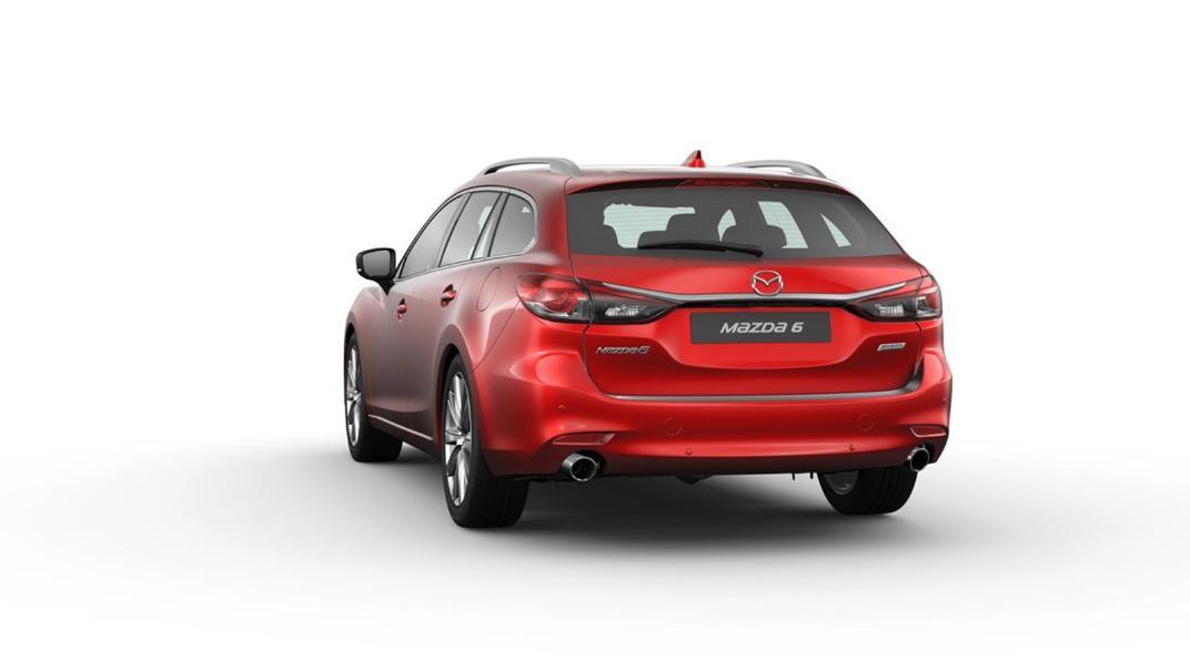 Mazda 6 Elite Estate Exterior 062