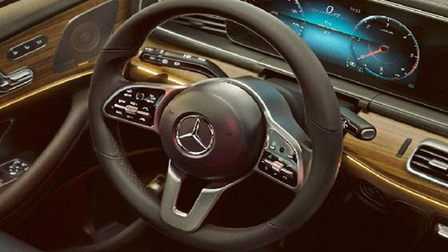 Mercedes-Benz GLE-Class 2019 Interior 001