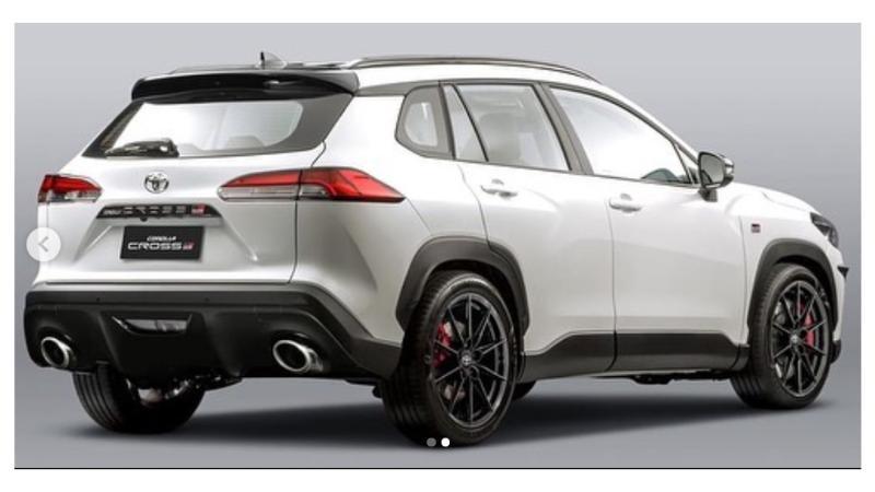 Paket Body Kit Toyota Corolla Cross 2021 Akan Meluncur Tahun ini, Bergaya Gazoo Racing 02