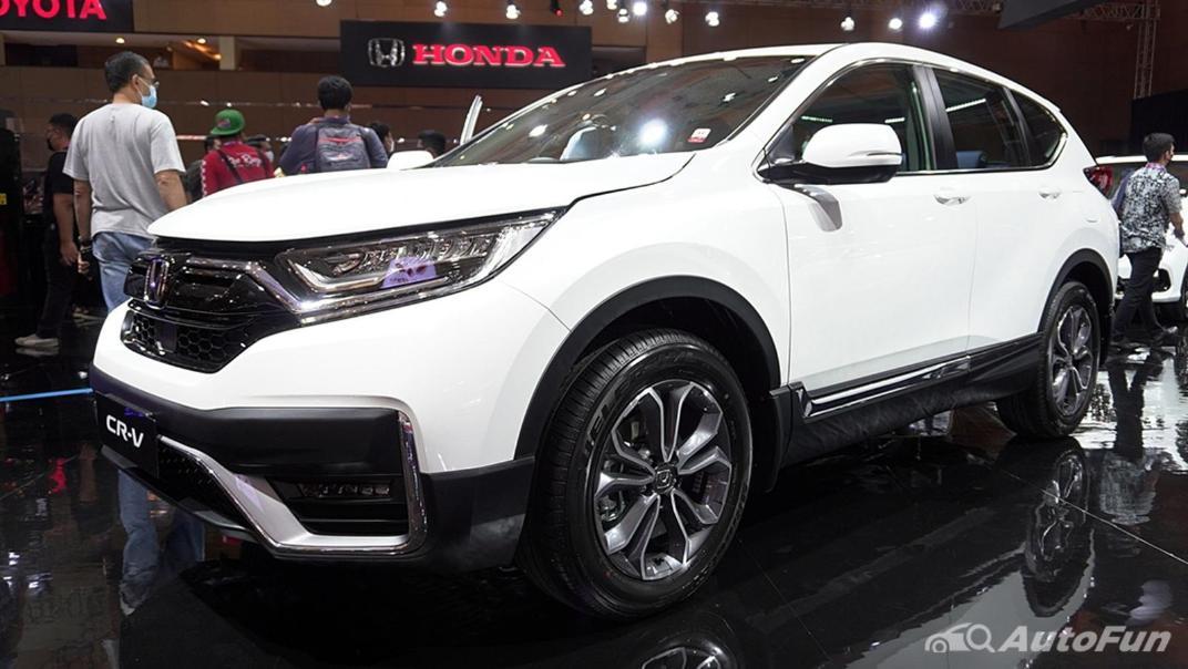 2021 Honda CR-V Exterior 001