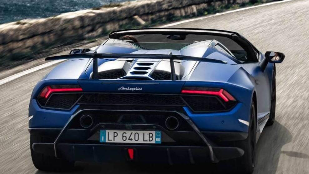 Lamborghini Huracan 2019 Exterior 025