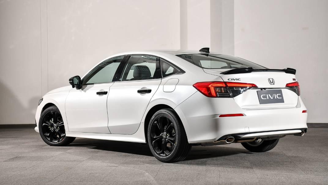 2022 Honda Civic Upcoming Version Exterior 007