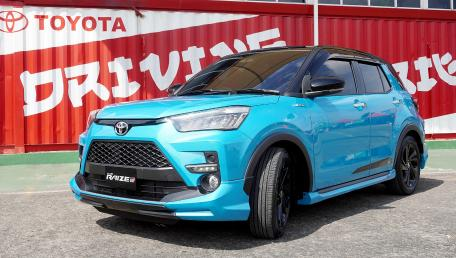 2021 Toyota Raize 1.0TG Sport CVT Daftar Harga, Gambar, Spesifikasi, Promo, FAQ, Review & Berita di Indonesia | Autofun