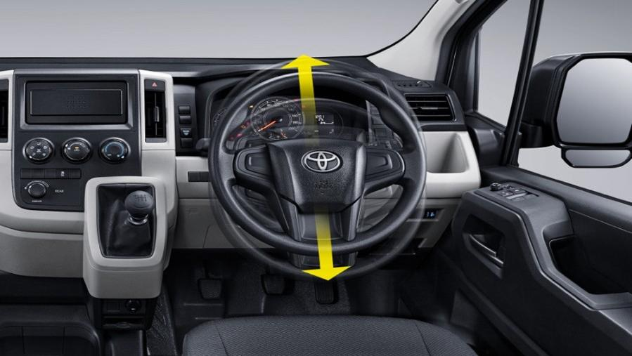 Toyota Hiace 2019 Interior 003