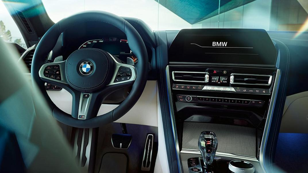 BMW 8 Series Coupe 840i Gran Coupe Interior 004