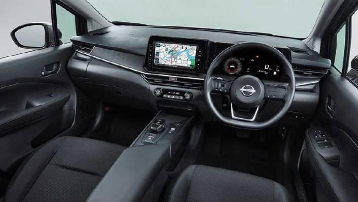 2021 Nissan Note Upcoming Version Interior 001