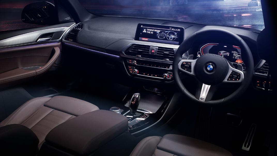 2021 BMW X3 xDrive30i M Sport Interior 001