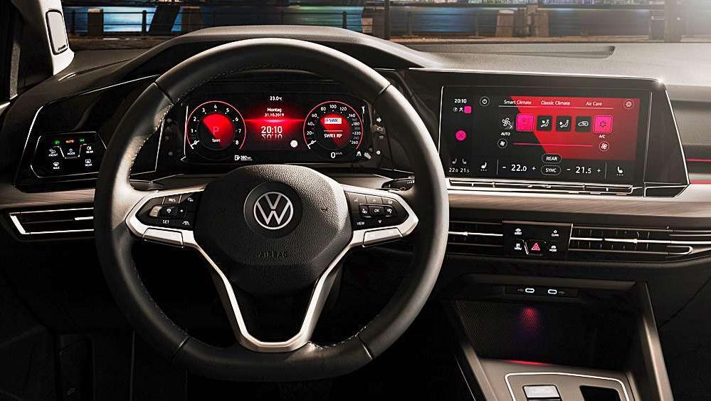 Volkswagen Golf 2019 Interior 067