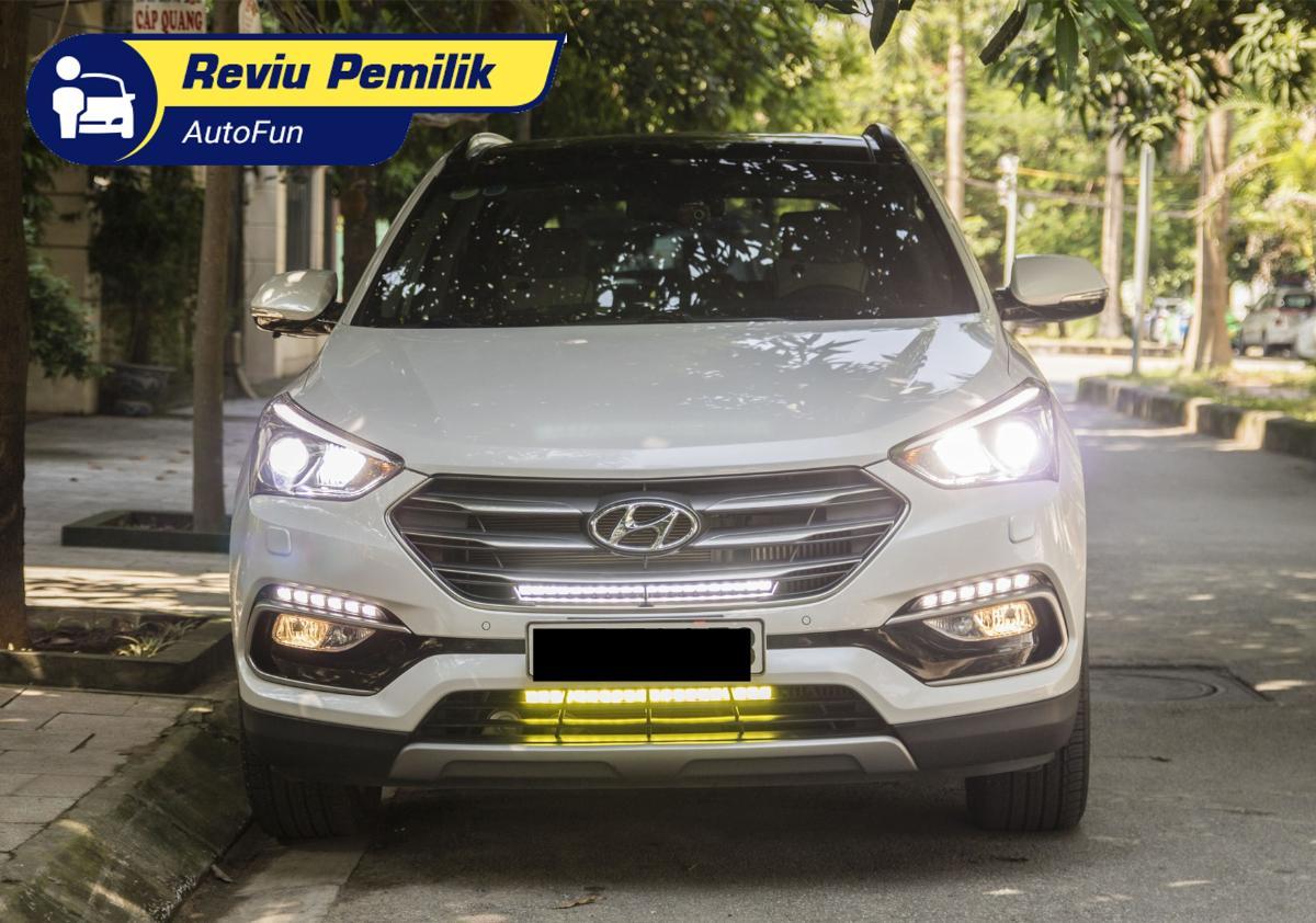 Review Pemilik: Tolak Honda CR-V dan Toyota Fortuner, pilih Hyundai Santa Fe dua kali, kenapa? 01