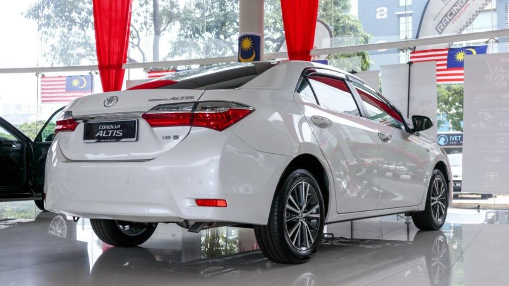 Toyota Corolla Altis 2019 Exterior 030