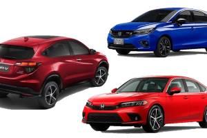 Bocoran 3 Mobil Baru Honda, Dari City Hatchback hingga HR-V RS 1.5 Turbo!