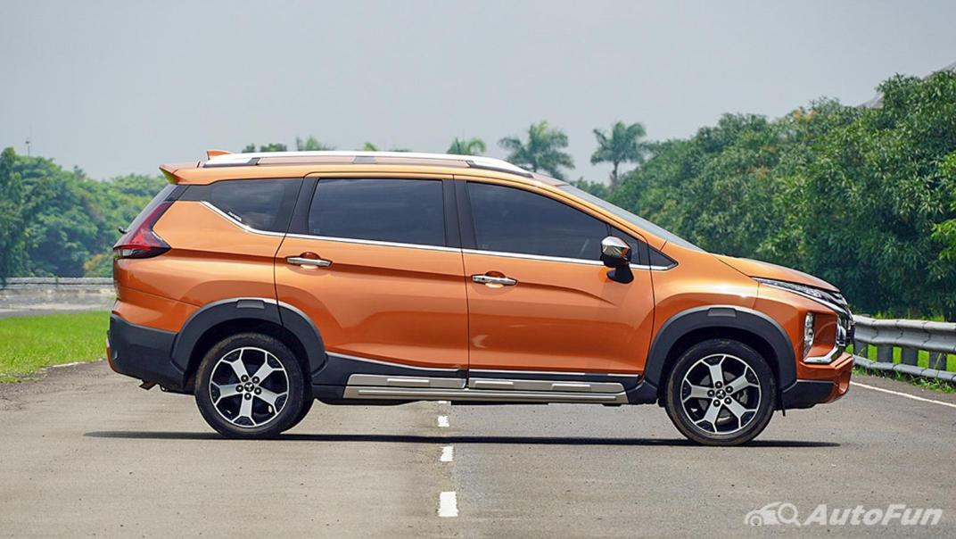 Mitsubishi Xpander Cross 2020 Premium Package AT Exterior 004