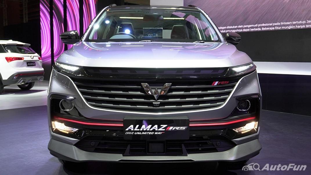 2021 Wuling Almaz RS Exterior 015