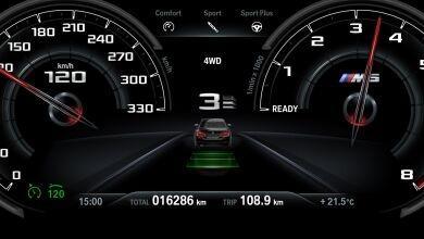 BMW M5 2019 Interior 003