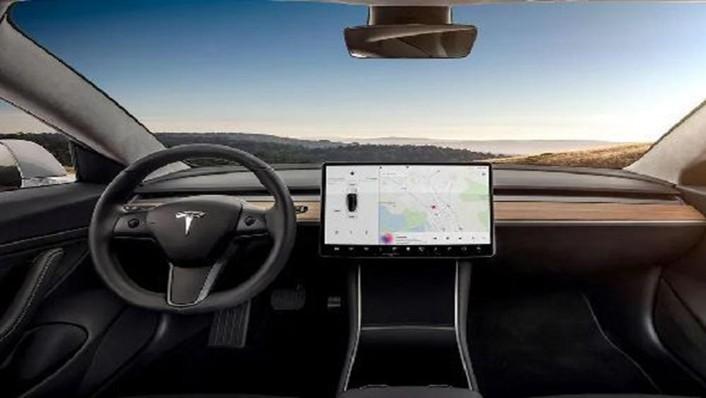 Tesla Model 3 2019 Interior 001