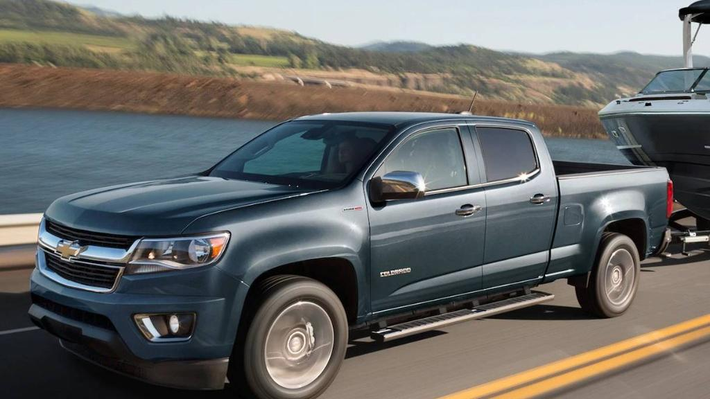 Chevrolet Colorado 2019 Exterior 001