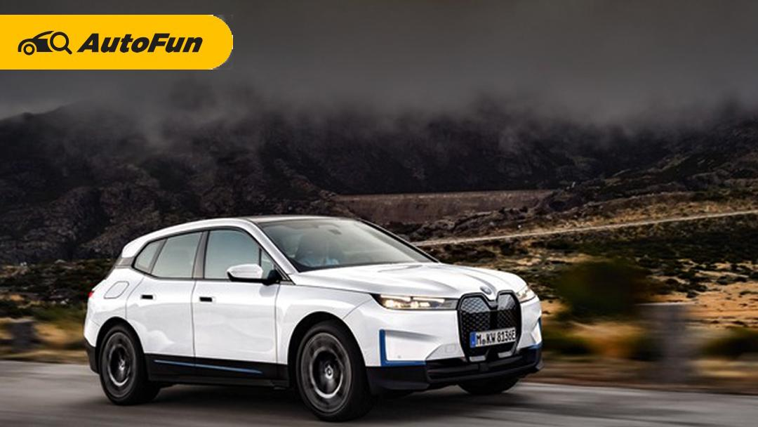 Debut Global BMW iX 2021 di China, Grill-nya Bikin Geleng Kepala 01