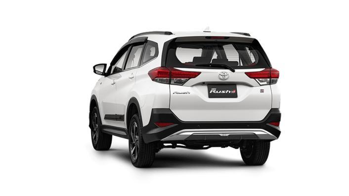 2021 Toyota Rush 1.5 S A/T GR Sport Exterior 007