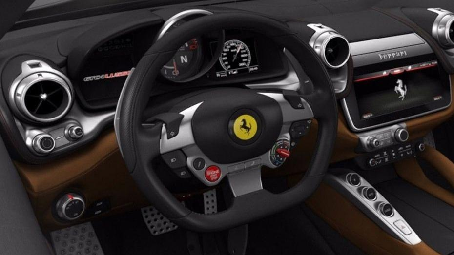 Ferrari GTC4Lusso 2019 Interior 002