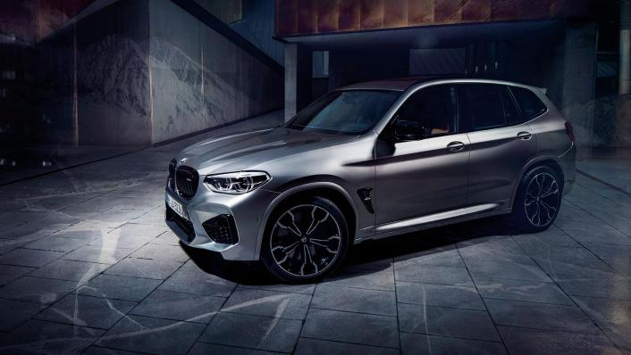 BMW X3 M Exterior 008