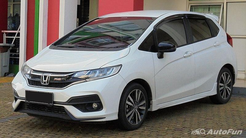 Honda Jazz, salah satu hatchback terlaris di Indonesia