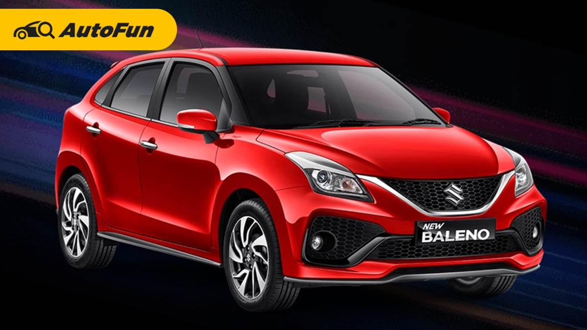 Suzuki Baleno 2022 Alami Rombakan Wajah Demi Hadapi City Hatchback 01