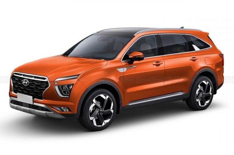 Hyundai Alcazar Siap Meluncur Juni Ini, Akan Getarkan Toyota Fortuner dan Mitsubishi Pajero Sport 02