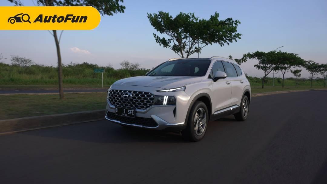 Review Hyundai Santa Fe: Varian Bermesin Bensin Suguhkan Kenyamanan Istimewa, Tapi Konsumsi BBM-nya.... 01