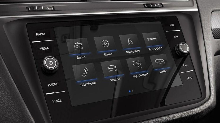 Volkswagen Tiguan 2019 Interior 089