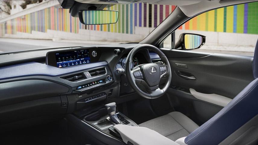 Lexus UX 2019 Interior 001