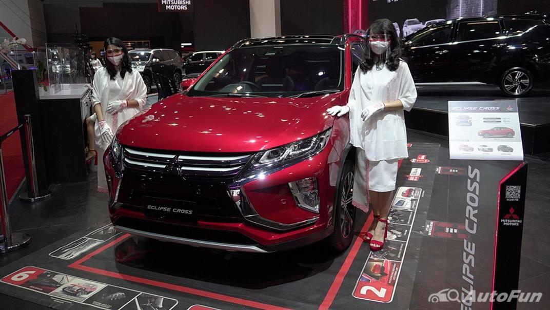 2021 Mitsubishi Eclipse Cross Exterior 001
